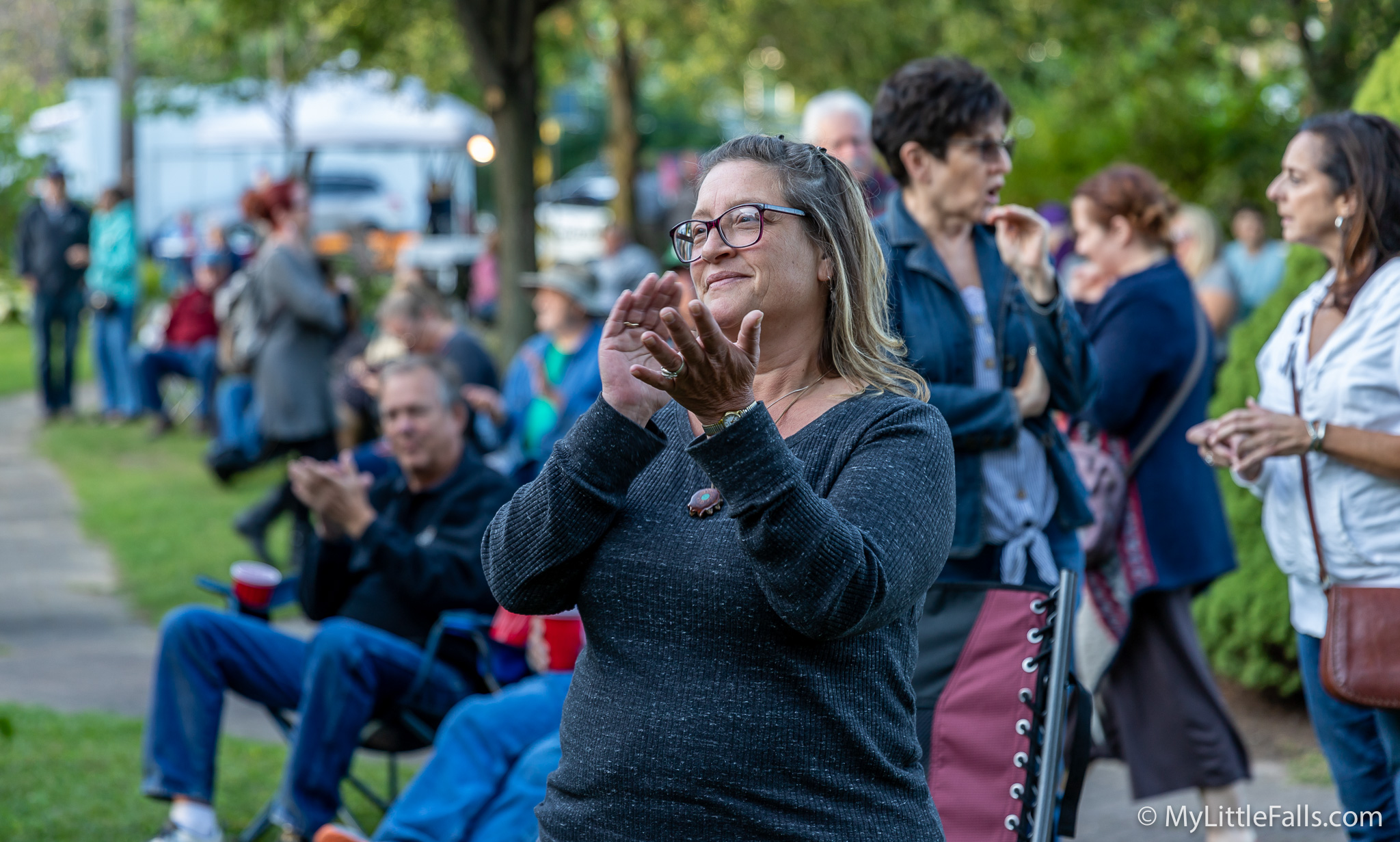 Read more about the article Bluegrass Festival draws crowd to Canal Place